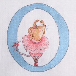 "Seraphina Counted Cross Stitch Kit 5""x4.5""-o"