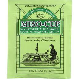 Edward and Sons Miso-Cup - with Seaweed Envelope - .705 oz - case of 24