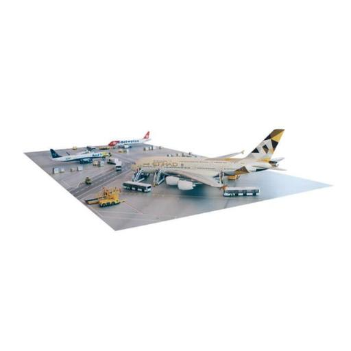 Herpa 200 Scale Commercial-Private HE557283 Apron Plates, 1 - 400 SCALE DIE-CAST MODELS, 1, 400 Scale Die-Cast Models