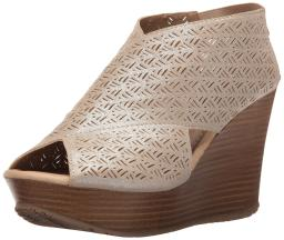 Kenneth Cole Reaction Womens Sole Safe 2 Peep Toe Casual Platform Sandals