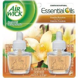 Air Wick Scented Oil Twin Refill Relaxation Vanilla Passion Scent