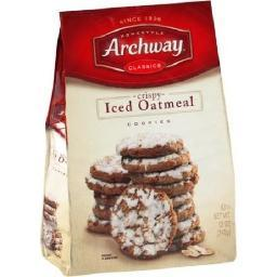 Archway Iced Oatmeal Home Style Cookies