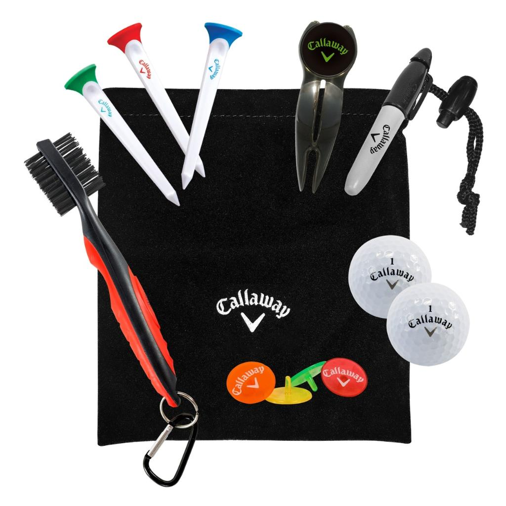 Callaway Golf Starter Set 7 Piece Gift Pack,  Brand New