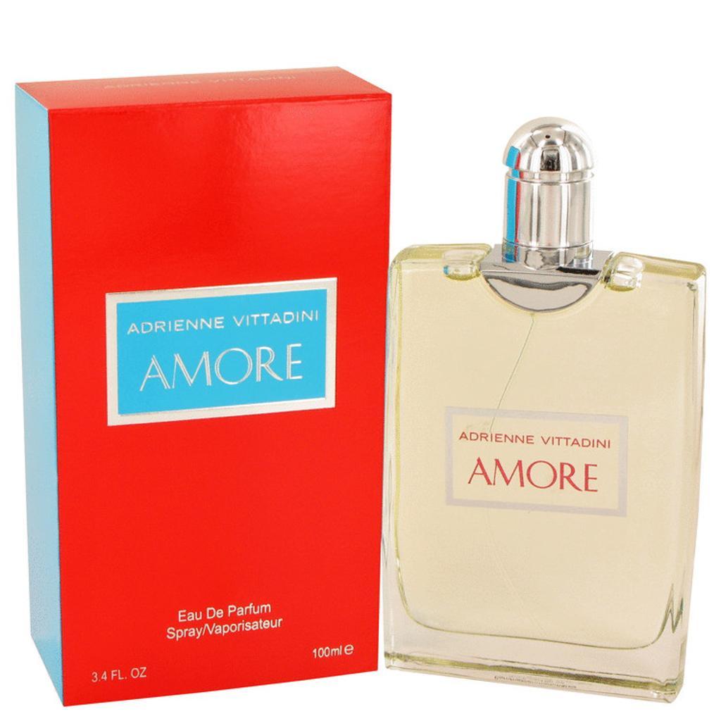Adrienne Vittadini Amore by Adrienne Vittadini Eau De Parfum Spray 2.5 oz for Women (Package of 2)