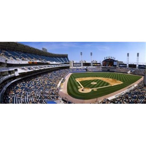 Panoramic Images PPI75566L High angle view of a baseball stadium U.S. Cellular Field Chicago Cook County Illinois USA Poster Print by Panoramic I