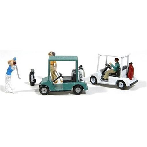 JL Innovative Design JLI459 Golf Carts Kit with Golf Bags