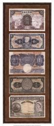 Foreign Currency Panel II Poster Print by Vision studio (9 x 21) OWP65512P