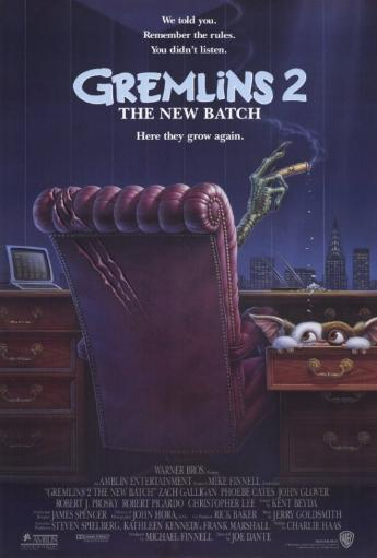 Gremlins 2: The New Batch Movie Poster Print (27 x 40) 877114
