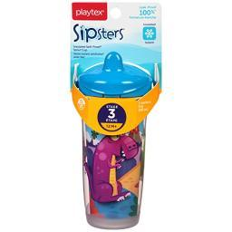 Playtex Sipster Sippy Cup, 1Pk, 9oz - 1 Pkg Assorted Colors