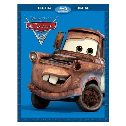 Cars 2 (blu-ray/digital hd/re-pkgd) WVLSOMNQJIABMSHU