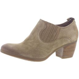 Comfortiva Womens Arnette Suede Dress Ankle Boots