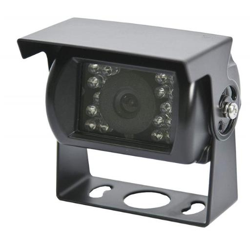 Ecco Electronics C2013B Gemineye Square Surface Mount Rear View Camera with Night Vision