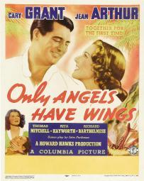 Only Angels Have Wings Top From Left: Cary Grant Jean Arthur Bottom Left From Left: Rita Hayworth Cary Grant On Window Card 1939 Movie Poster Masterprint EVCMCDONANEC061HLARGE