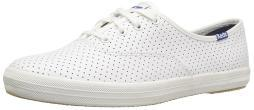 Keds Women's Champion Retro Court Perf Leather Fashion Sneaker