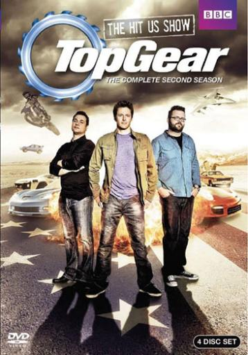 Top gear usa-season 2 (dvd/4 disc/ws-16x9/eng-sdh sub) 1489486
