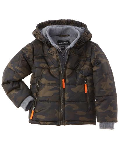 Rothschild Kids Bib Puffer Jacket thumbnail