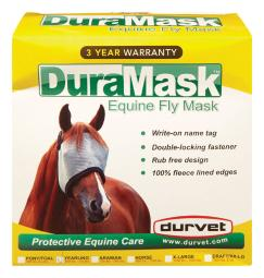 Duramask Mesh Yearling Horse Fly Mask - Case Of: 1;