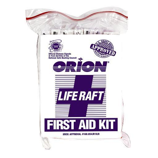 Orion safety products orion life raft first aid kit 810