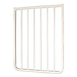 Cardinal Gates Bx2-W White Cardinal Gates Extension For Autolock Gate And Stairway Special White 21.75 X 1.5 X 29.5