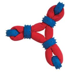 Chompers Wb11457 Gladiator Tuff Nylon Triangle Tug Dog Toy
