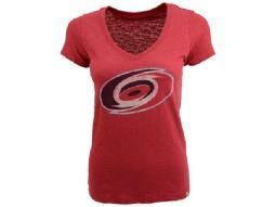 "Carolina Hurricanes NHL 47 Brand ""Scrum"" V-Neck Tee"