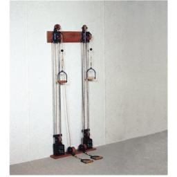 Chest Weight Pulley System - 10 X 2.2 Lbs. Weights