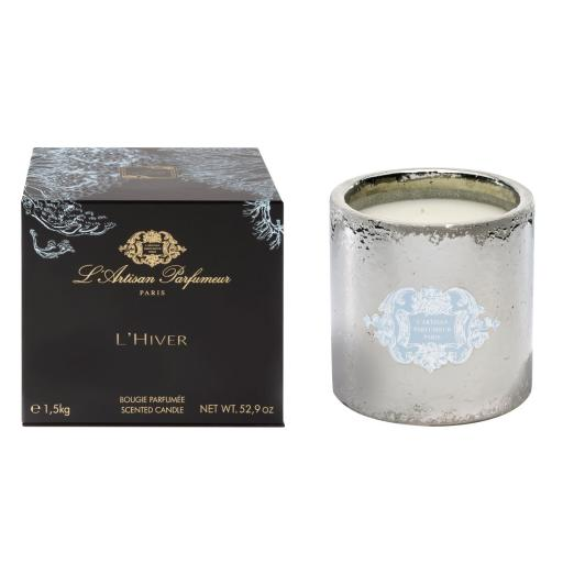 L'Artisan Parfumeur L'Hiver Scented Candle 52.9oz/1.5kg New In Box