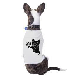 Boo French Bulldog Halloween Tshirt For Dogs Funny Costume T-Shirt