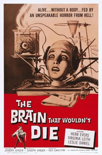 The Brain That Wouldn'T Die Us Poster Art Virginia Leith 1962 Movie Poster Masterprint ZF8QLKF9Z0LUDK6A