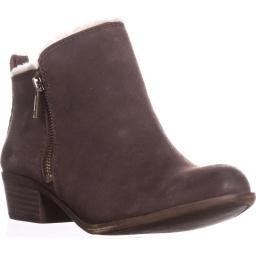 Lucky Brand Basel4 Ankle Booties, Java Basel4