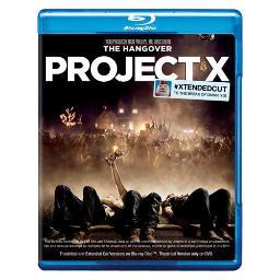 Project x (2012/blu-ray/dvd/2 disc) BR204549