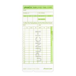 Upunch PPZHNTCG1100 Card Time, Pack of 100