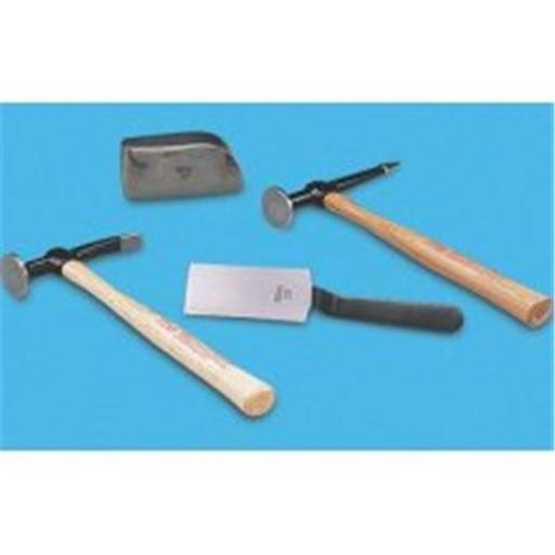 Martin Tools MRT644K Body and Fender Repair Set with Hickory Handles - 4 Pieces