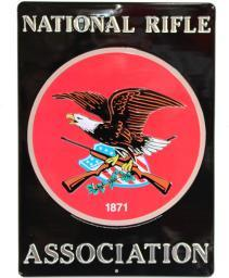 OPEN ROAD BRANDS 90160803 OPEN ROAD BRANDS DIE CUT EMB TIN SIGN W/KNOCKOUT NRA 10X14