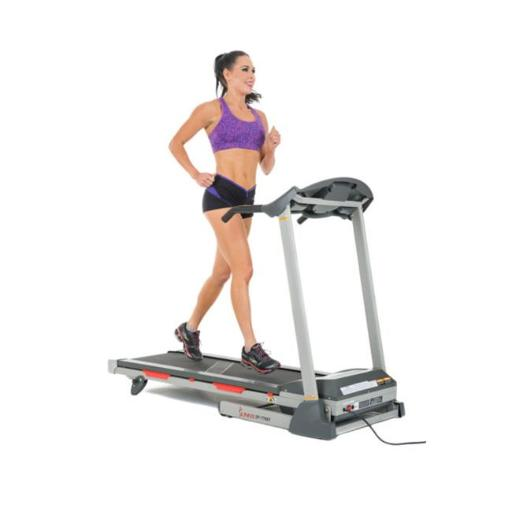 Sunny Health & Fitness SF-T7603 16 x 49 in. Motorized Treadmill with Running Surface