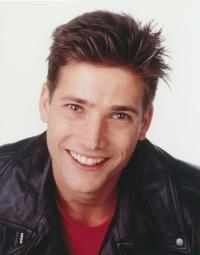 Sasha Mitchell Close Up Portrait in Black Leather Jacket Photo Print GLP453541LARGE