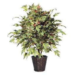 Vickerman TXX1740 4 ft. Frosted Maple Extra Full