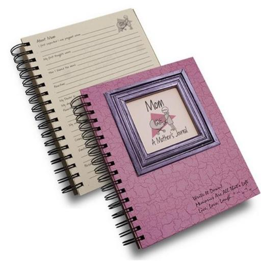 Journals Unlimited CJ-22 Mom - A Mothers Journal Book, Pink