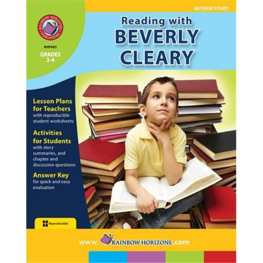 Rainbow Horizons A95 Reading with Beverly Cleary - Author Study - Grade 2 to 4 MKWWPCTPSSRYREET