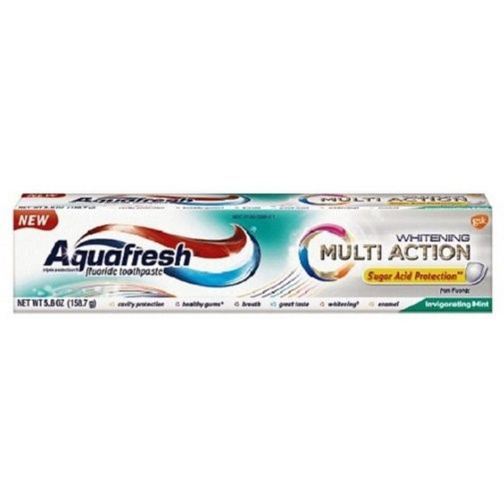 Aquafresh Multi Action Whitening Toothpaste