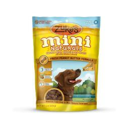 Zuke'S 33022 Zuke'S Mini Naturals Moist Miniature Treat For Dogs Peanut Butter 1 Lbs.