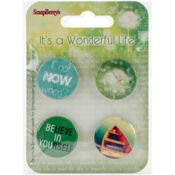 Scrapberry's It's A Wonderful Life Embellishments-#2 SCB1056