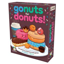 Gamewright GMW111 Go Nuts for Donuts Card Game