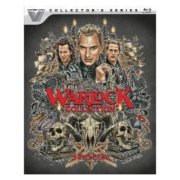 Warlock 1-3 collection (blu ray)(ws/eng/span sub/eng sdeh/2.0 dts-hd/2discs BR52279