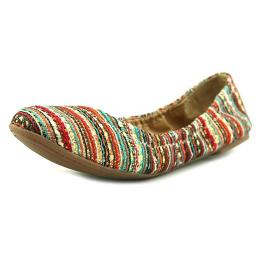 Lucky Brand Womens EMMIE Fabric Closed Toe Ballet Flats