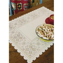 Heritage Lace CA-1420W Chalet 14 x 20 in. Placemat - White