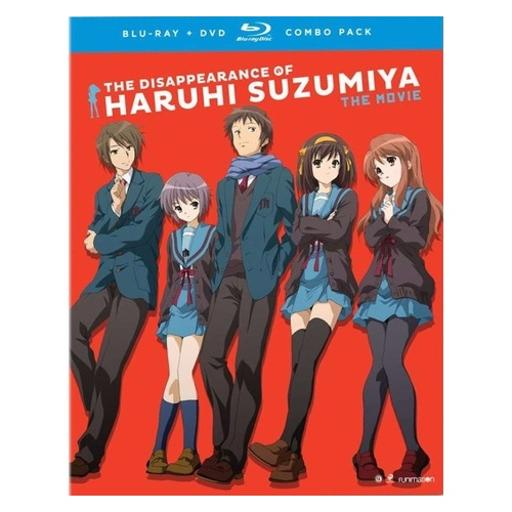 Disappearance of haruhi suzumiya-movie (blu-ray/dvd combo/3 disc) JJPVDGAHHKKIUBRS