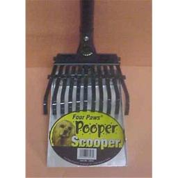 Four Paws Products FP18243 Scooper Rake Set Large - Small 2 Pieces