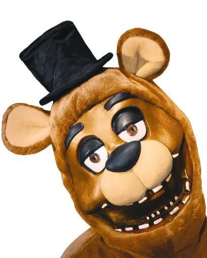 Five Nights At Freddy's 3/4 Mask Adult Fazbear Bear FNAF Horror Game Cosplay App