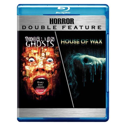 Thirteen ghosts/house of wax (blu-ray/dbfe) FEVWJVRHP48STISR
